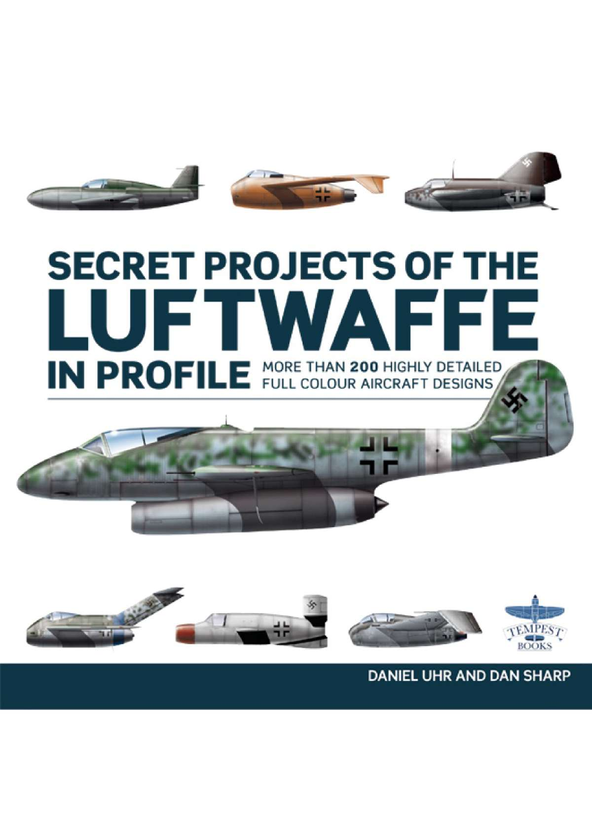 8627 - Secret Projects Of The Luftwaffe In Profile