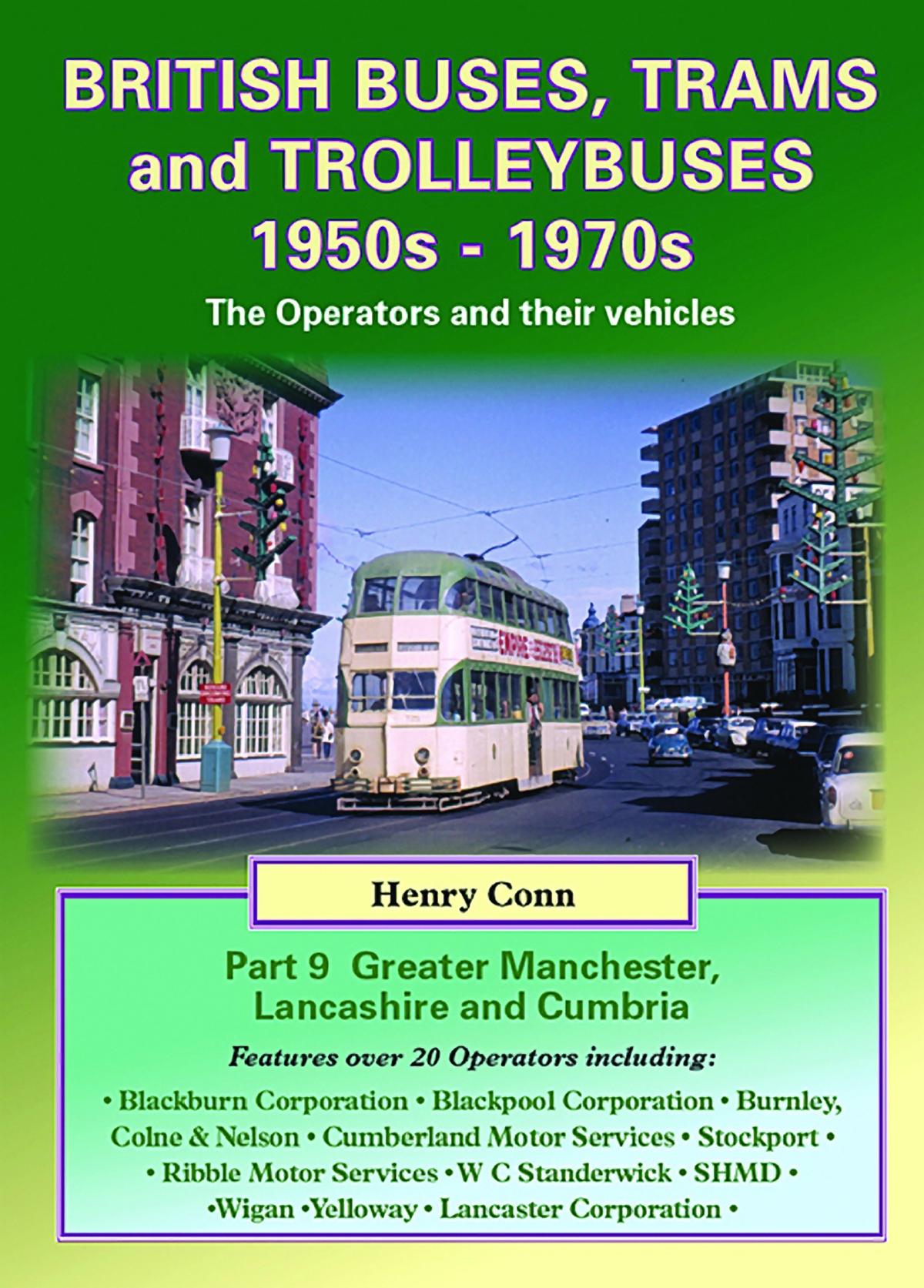 3979 - Buses & Trolleybuses Part 9: Greater Manchester, Lancashire and Cumbria