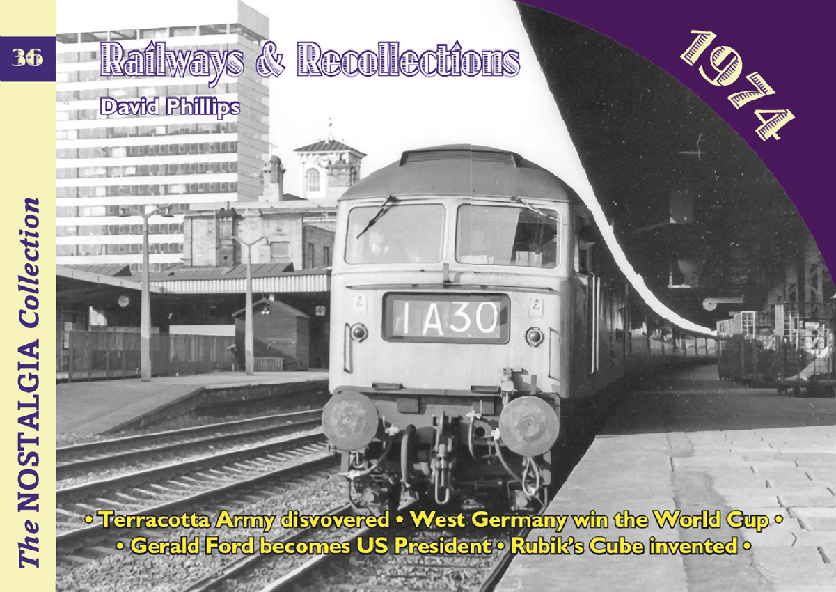 4037 - Vol 36: Railways & Recollections 1974
