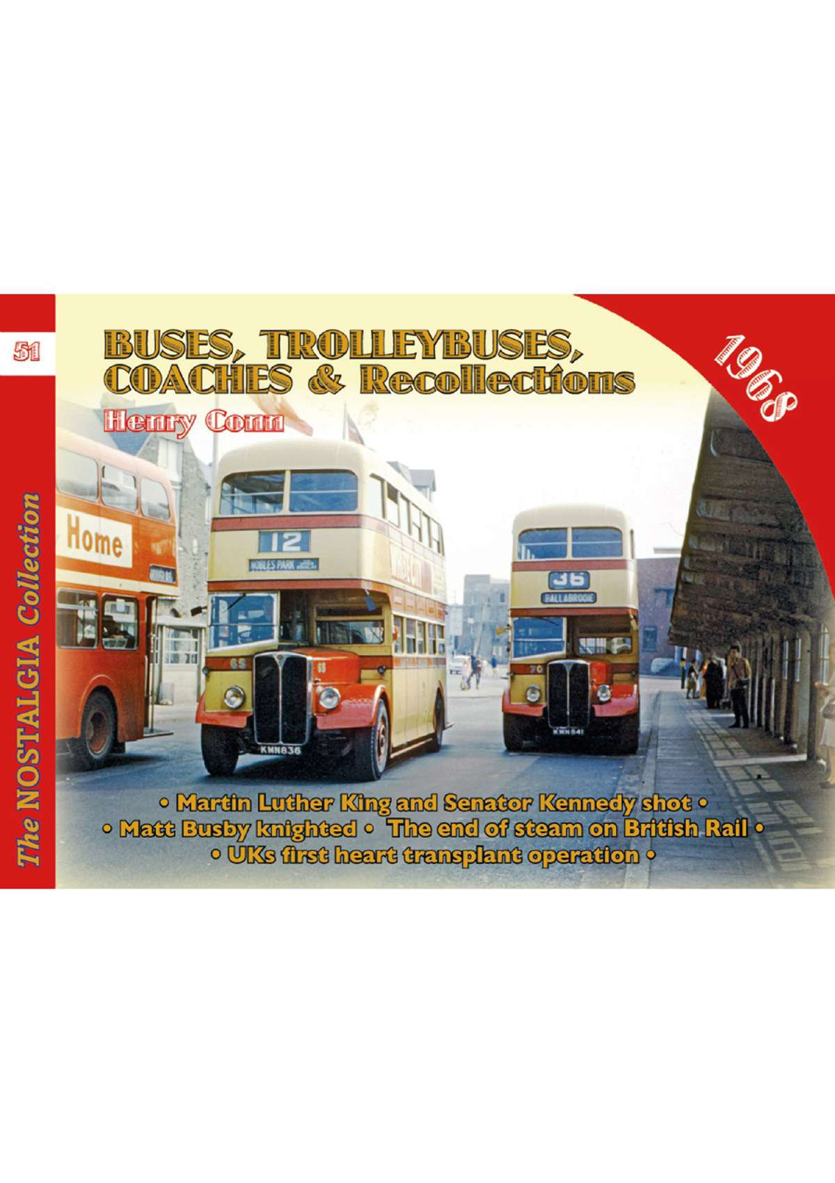 4501 - Vol 51: Buses, Trolleybuses, Coaches & Recollections 1968