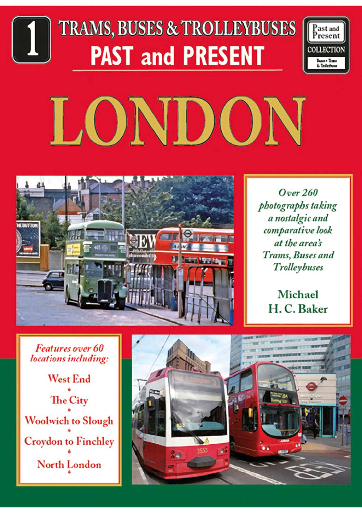 2666 - Trams, Buses and Trolleybuses No 1: London