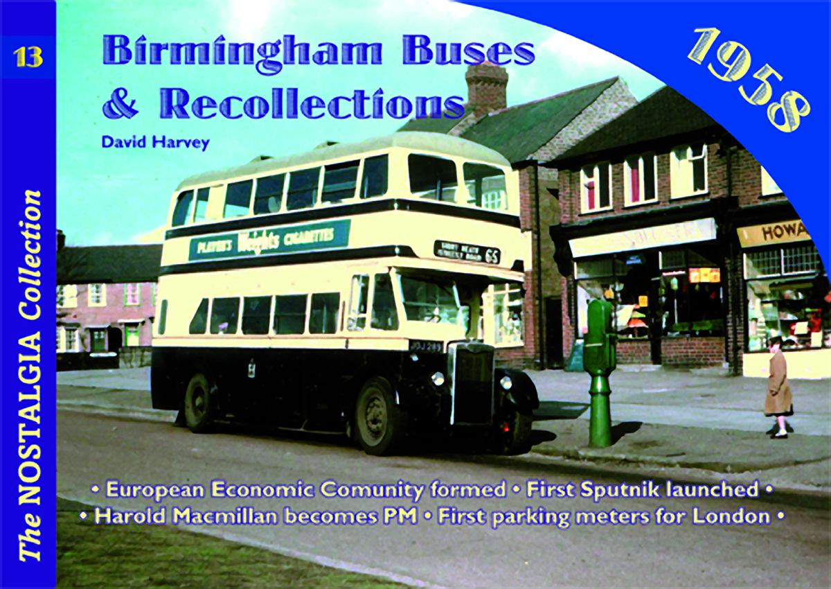 3252 Vol 12: Birmingham Buses
