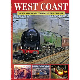 West Coast Steam: The 175th Anniversary of Britain's... by Robin Jones (Bookazine)