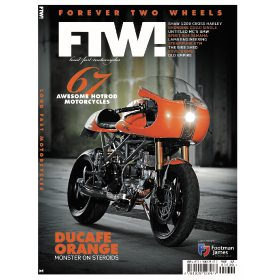 Forever Two Wheels by Gary Pinchin (Bookazine)