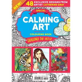 Bookazine - Calming Art Challenge the Artist
