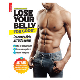 Bookazine - Lose your belly for good - Book