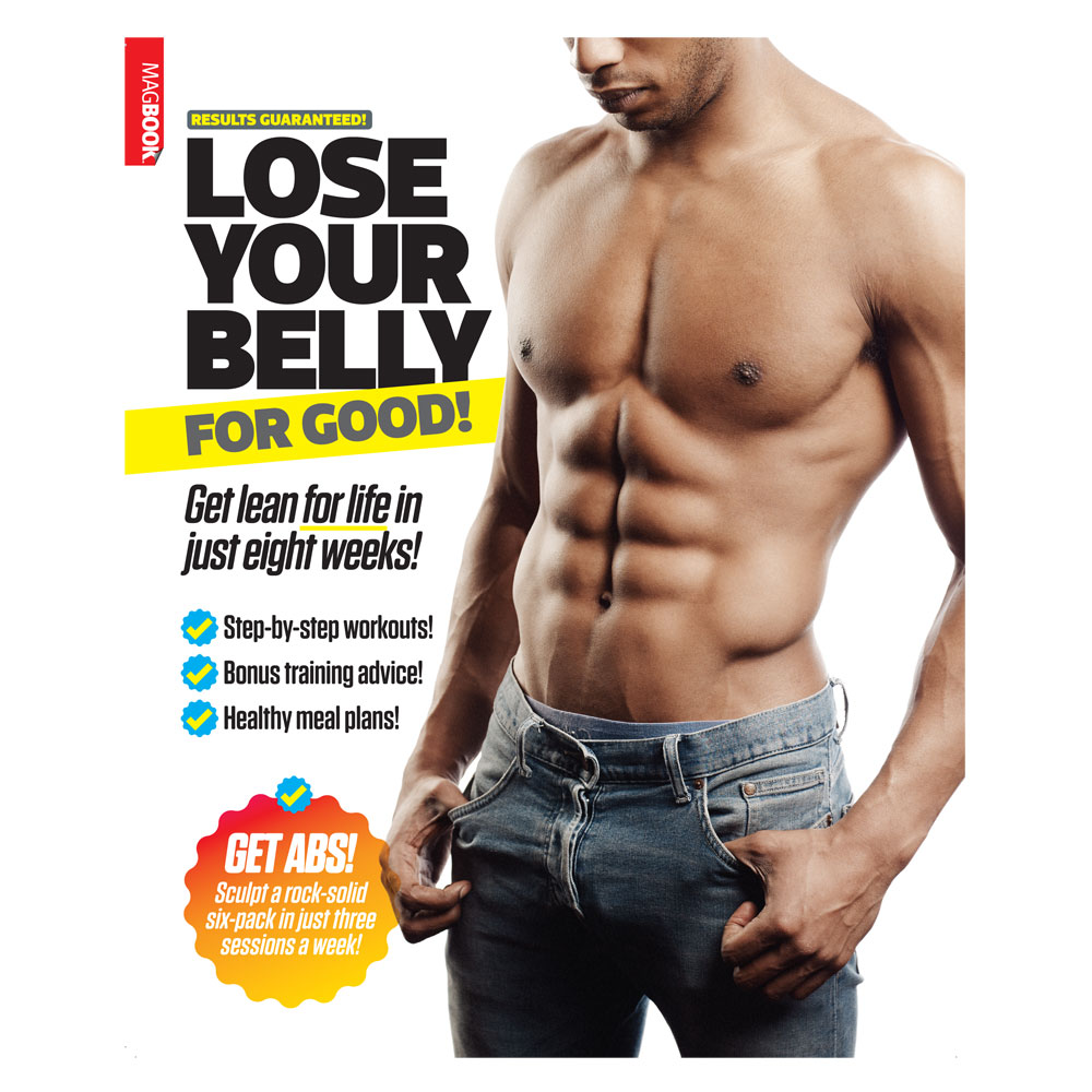 Bookazine - Lose your belly for good