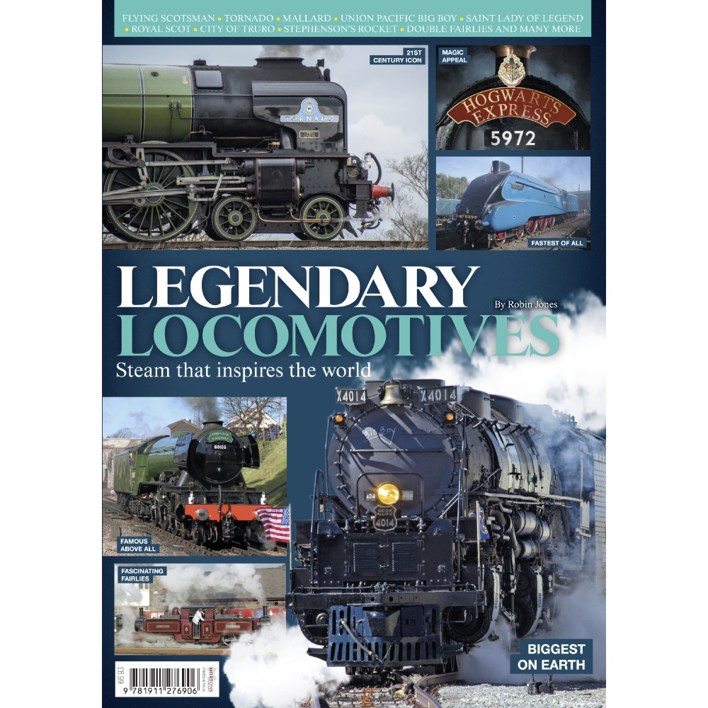 Bookazine - Legendary Locomotives