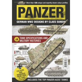 Bookazine - Panzer - German WW2 Designs by Claes Sundin