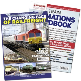 Bookazine - Bundle: The Changing Face of Railfreight + Rail Express Train Formations Handbook