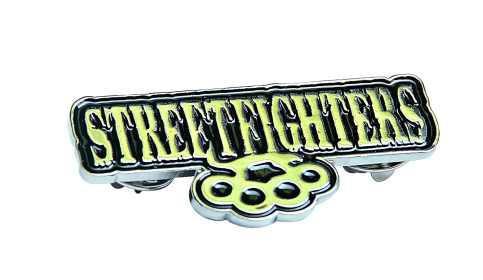 Streetfighters Pin Badge