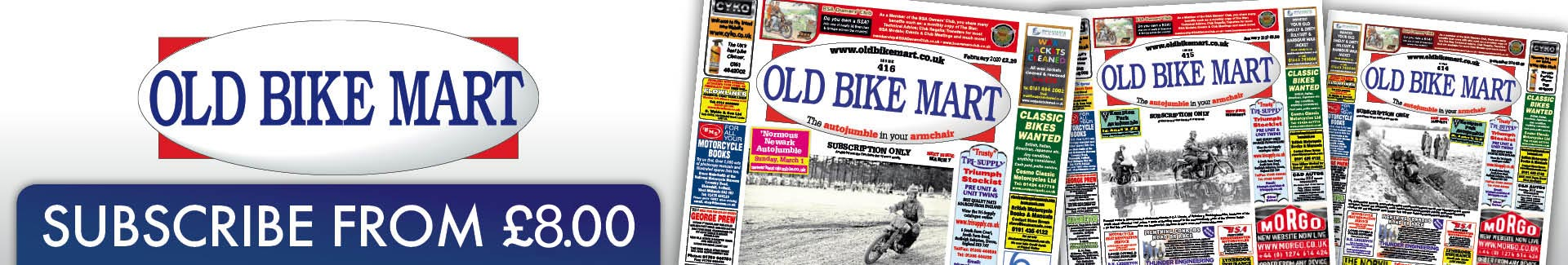 Old Bike Mart - Subscription